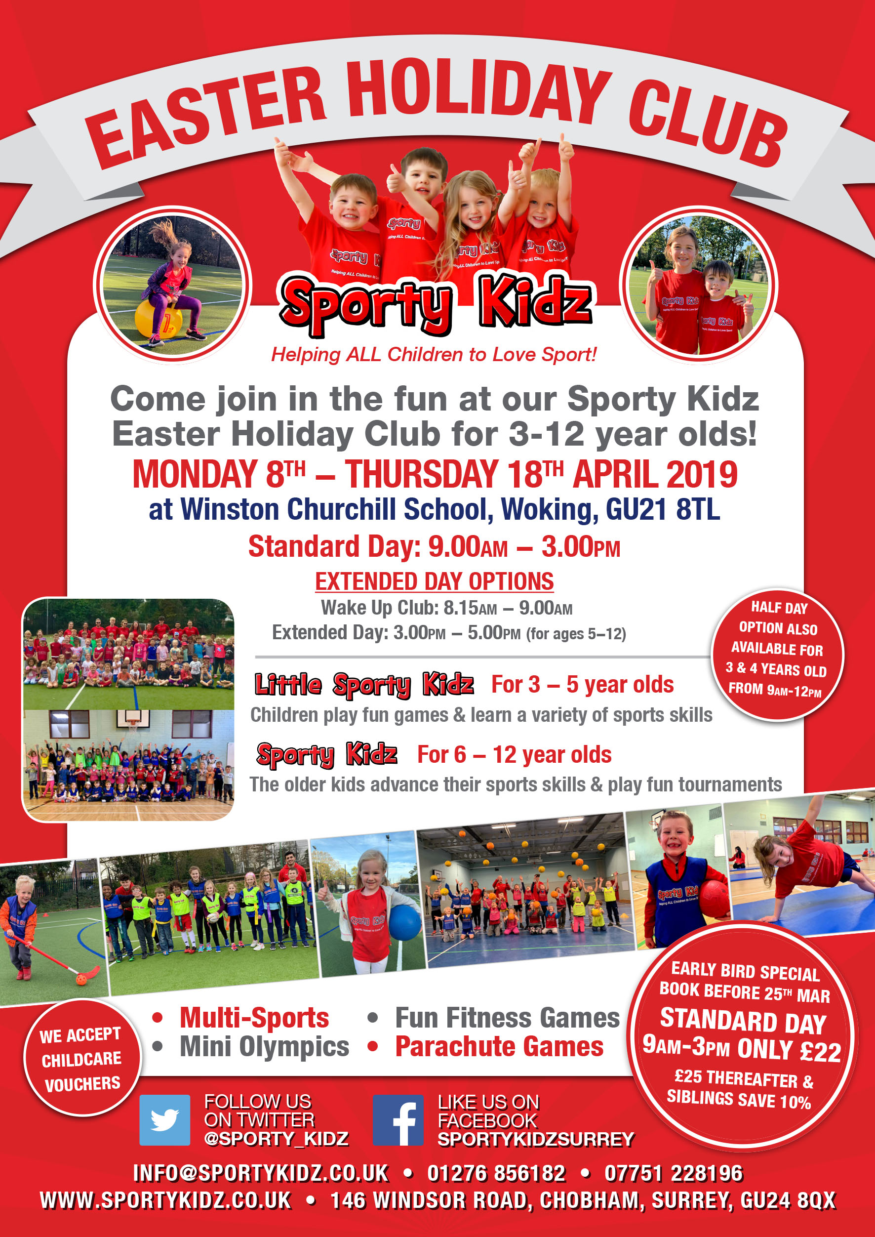 Easter Holiday Club in Surrey