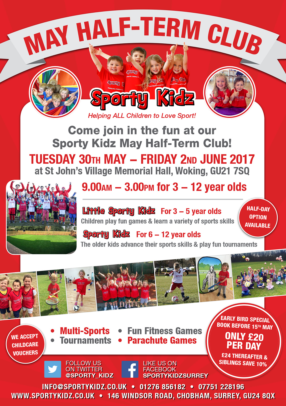 May Half-Term Club in Surrey