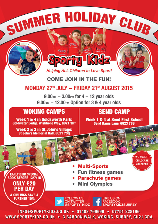 Summer Holiday Club in Woking