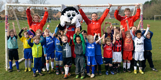 NEW U6 FOOTBALLERS WANTED FOR 2015/16 SEASON